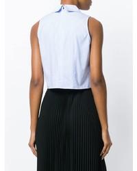 Vivetta Cropped Striped Shirt