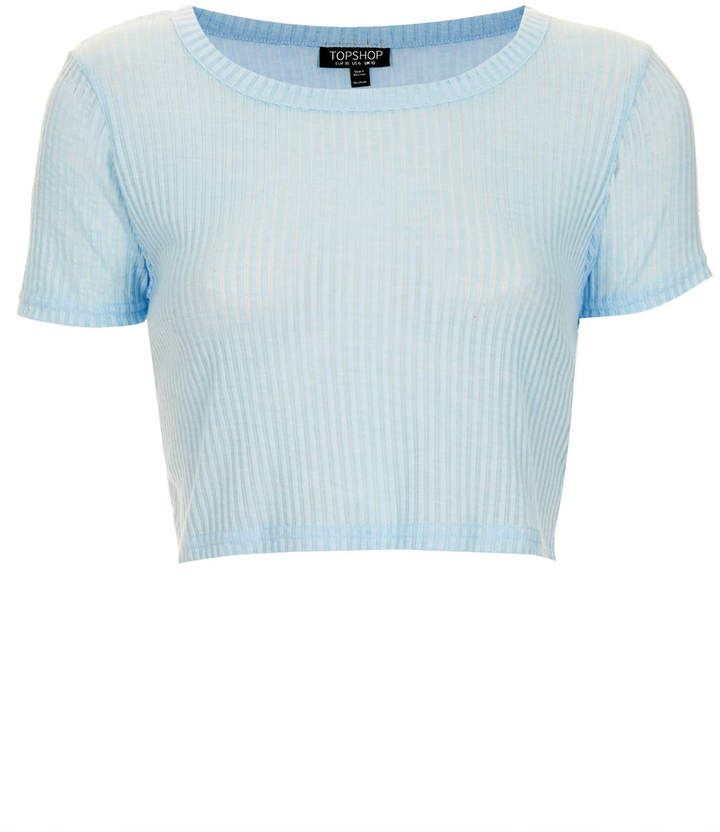 Topshop Rib Crop Tee Where To Buy Amp How To Wear