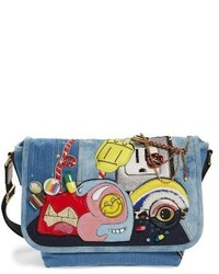 Denim crossbody bag blue medium 3683502