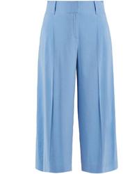 High rise linen blend culottes medium 3710061
