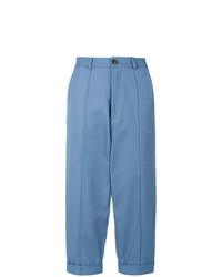 Societe Anonyme Socit Anonyme Cropped Chino Trousers