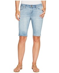 Bobbie bermuda shorts in vintage super comfort stretch denim in mandalay light shorts medium 5267985