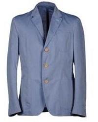 Light Blue Denim Blazer