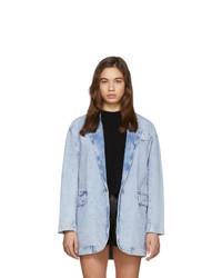Isabel Marant Etoile Blue Holly Blazer