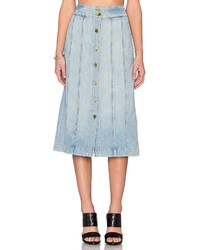 Frame Denim Le Panel Skirt
