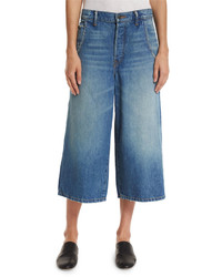 Vince Denim Culottes Atwood