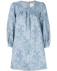 Marc Jacobs Denim Babydoll Dress