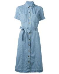 Current/Elliott Denim Robe Dress