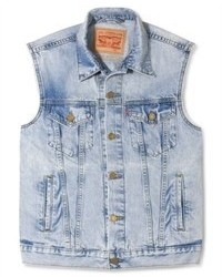 Levi's Surf Love Trucker Denim Vest