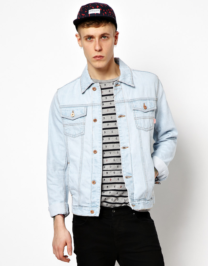 Asos Denim Jacket With Bleach Wash | Where to buy &amp how to wear