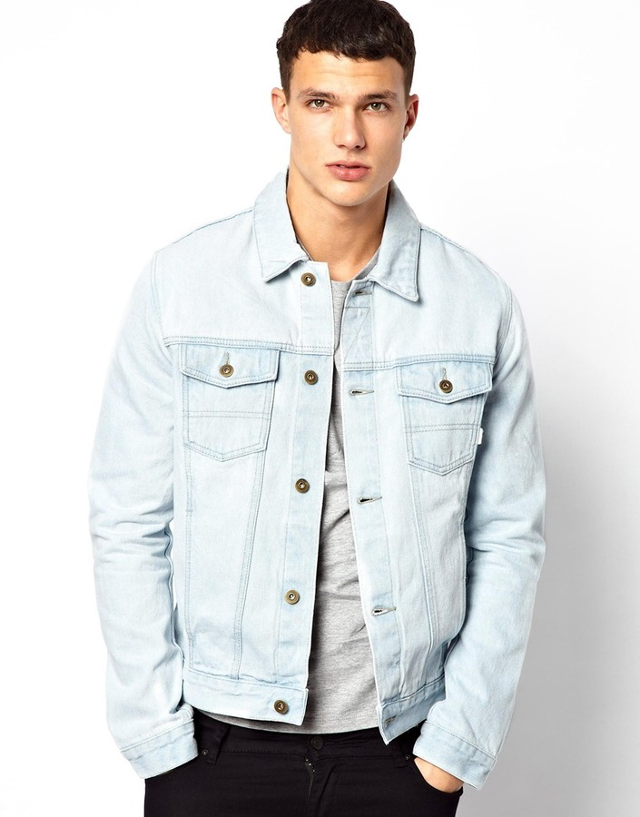 Asos ASOS Denim Jacket With Acid Wash | Where to buy & how to wear