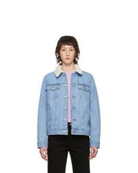 A.P.C. Blue Denim Arlette Jacket