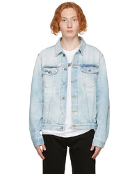 Off-White Blue Denim Arrows Slim Jacket