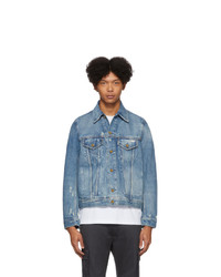 Diesel Blue Denim D Bray Jacket