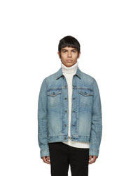 Rag and Bone Blue Denim Definitive Jacket