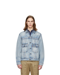 Levis Blue Denim Iconic Original Trucker Jacket