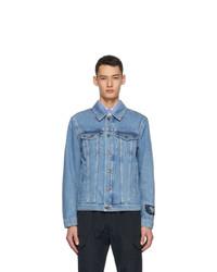 MSGM Blue Denim Jacket