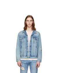 Levis Blue Denim Trucker Jacket
