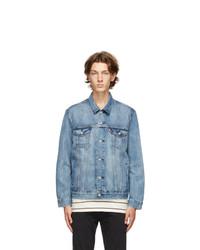 Levis Blue Denim Trucker Jacket