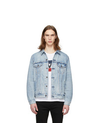 Levis Blue Denim Vintage Fit Trucker Jacket