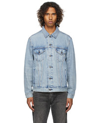 Levi's Blue Denim Vintage Fit Trucker Jacket