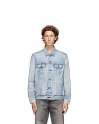 Levis Blue Denim Virgil Trucker Jacket