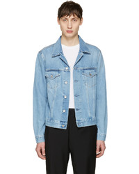 Blue denim who jacket medium 1044362