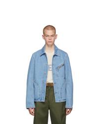 Loewe Blue Denim Zip Jacket