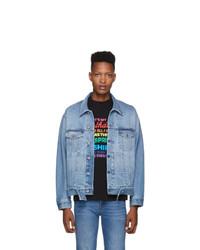 Vetements Blue New Classic Denim Jacket