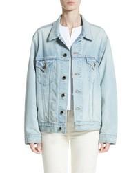Khaite Cate Oversize Denim Jacket