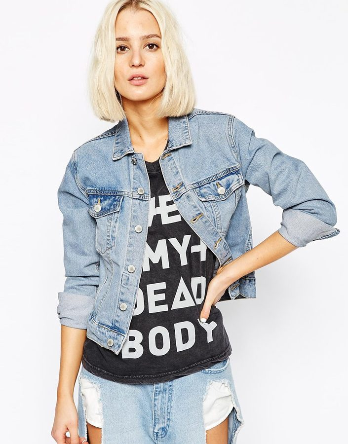 Cheap Monday Denim Jacket | Where to buy &amp how to wear