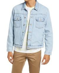 Topman Classic Fit Denim Jacket