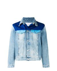 Calvin Klein Jeans Contrast Panel Denim Jacket