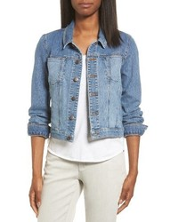 Eileen Fisher Crop Denim Jacket