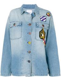 Denim patch jacket medium 5318335