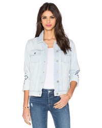 Women's Light Blue Denim Jackets by Paige | Women's Fashion