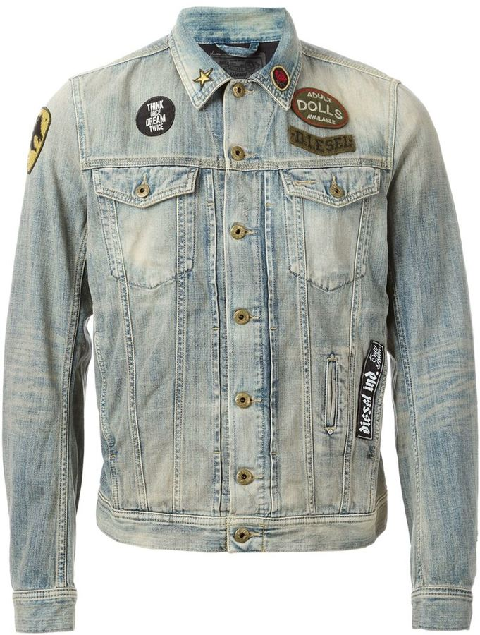 Diesel Denim Jacket | Where to buy & how to wear
