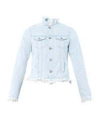 MiH Jeans Frayed Edge Denim Jacket