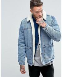f384721df57b Men s Light Blue Denim Jackets from Asos   Men s Fashion