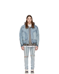 Fear Of God Indigo Denim Track Jacket