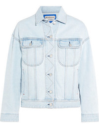 Acne Studios Lamp Oversized Denim Jacket Light Denim