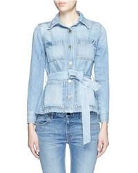 Frame Denim Le Patch Pocket Denim Jacket