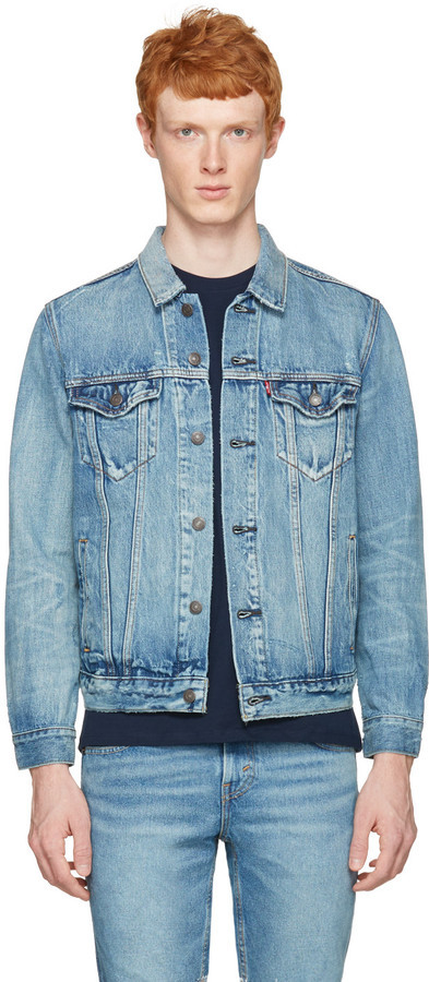 amp; Wear Trucker Denim Levis To Buy Where Blue How Jacket Levi's qFR8BT