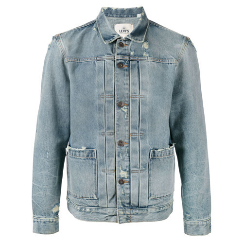 a3966b2549 ... Jackets Levi s Made   Crafted Levis Made Crafted Faded Denim ...