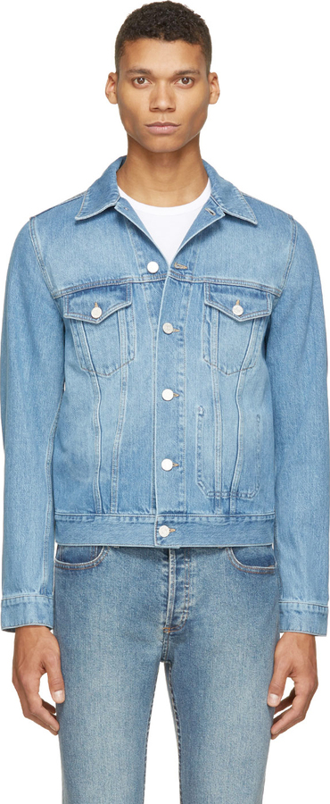 243919e7ca87 ... Acne Studios Light Indigo Jam Lt Vintage Denim Jacket ...