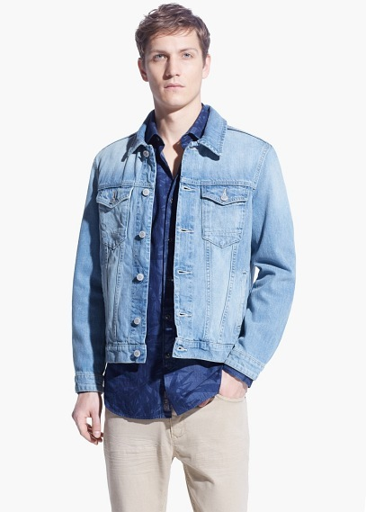 Mango Light Wash Denim Jacket Where To Buy How To Wear