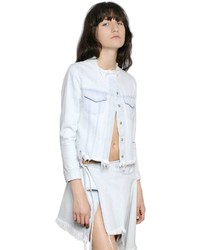 MARQUES ALMEIDA Raw Cut Cotton Japanese Denim Jacket