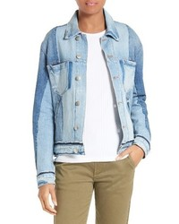 Frame Nouveau Le Mix Denim Jacket