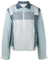 Panelled denim jacket medium 795331
