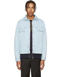 Paul Smith Ps By Blue Denim Jacket